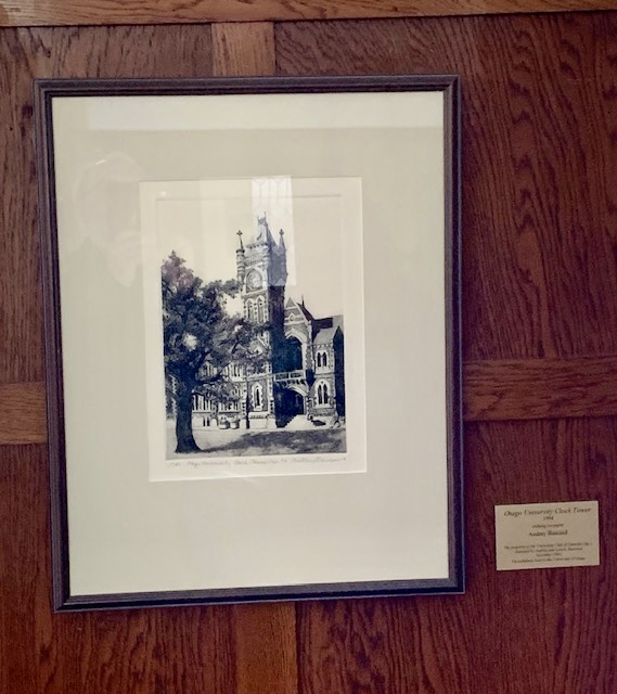Audrey Bascand Etchings on Display